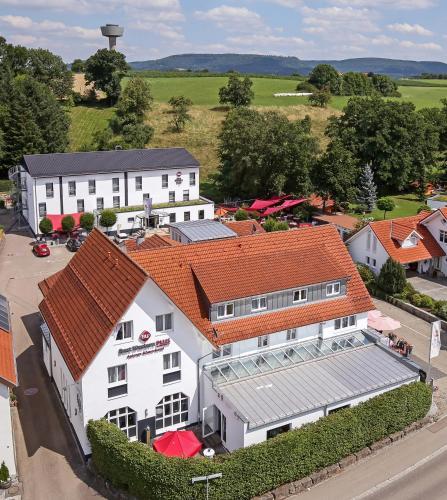 A bird's-eye view of BEST WESTERN PLUS Aalener Römerhotel a.W.L.