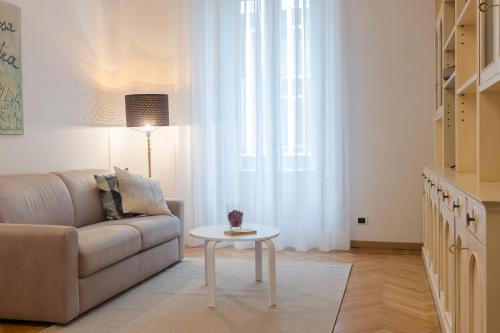 A seating area at Imperial Apartments Milano - Suite Garibaldi