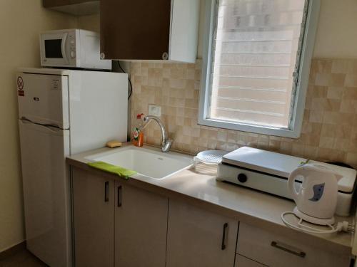 Küche/Küchenzeile in der Unterkunft Apartments Petah Tiqwa - Bar Kochva Street