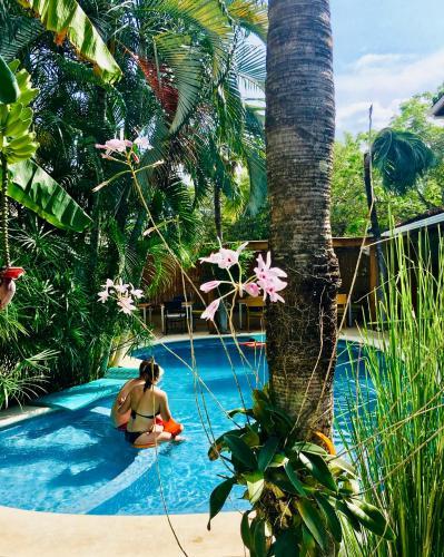 Vista de la piscina de Ten North Tamarindo Beach Hotel o alrededores