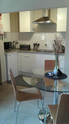 A kitchen or kitchenette at Casa de Coco