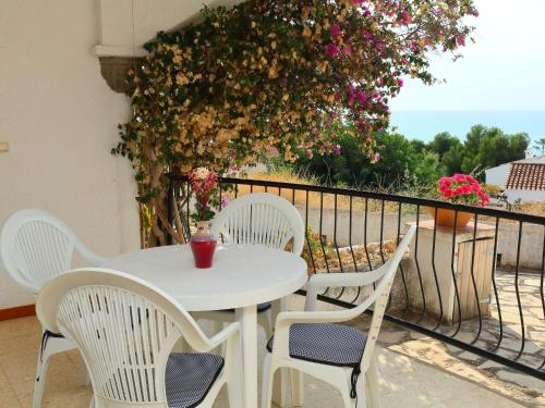 A balcony or terrace at Holiday Home Peces 3