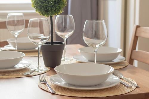 Restoran atau tempat makan lain di Hradcany apartment