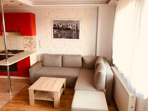 A seating area at Lovely Apartments Gdańsk