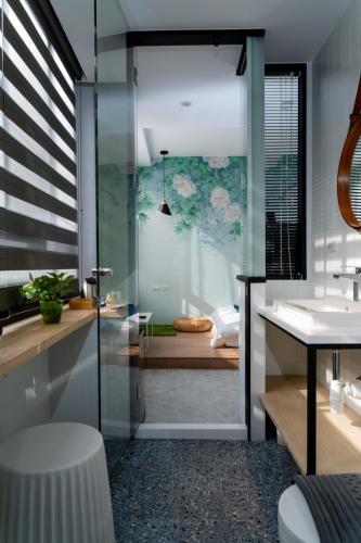 A bathroom at Ho.Me-Easyhouse -II