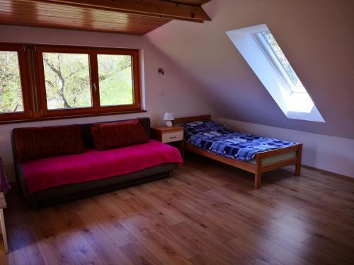 Postelja oz. postelje v sobi nastanitve Apartments Bernarda