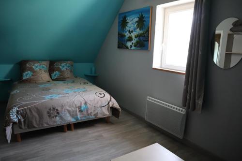 Un ou plusieurs lits dans un hébergement de l'établissement Gîtes De Saint Rémy