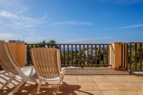 A balcony or terrace at Villa Ses Marjades