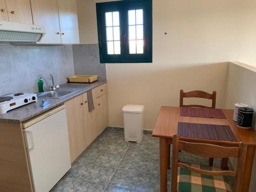 A kitchen or kitchenette at Galini Apartments