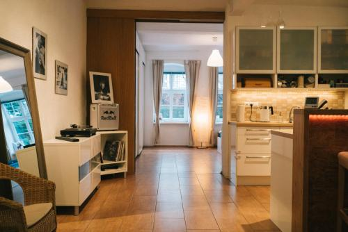 A kitchen or kitchenette at Dobrobeat