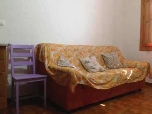 A seating area at Apartamentos Rurales Venta El Salat