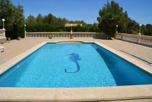 The swimming pool at or near Villa Velo