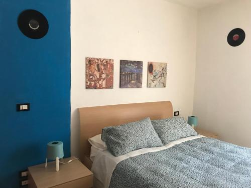 Postel nebo postele na pokoji v ubytování Al Varrone