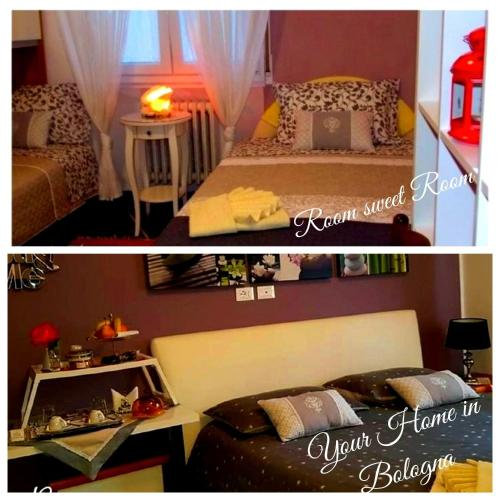 A bed or beds in a room at Room Sweet Room
