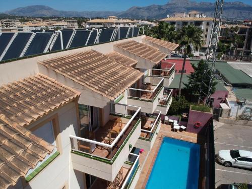 Aparthotel Residencial Vidalbir a vista de pájaro