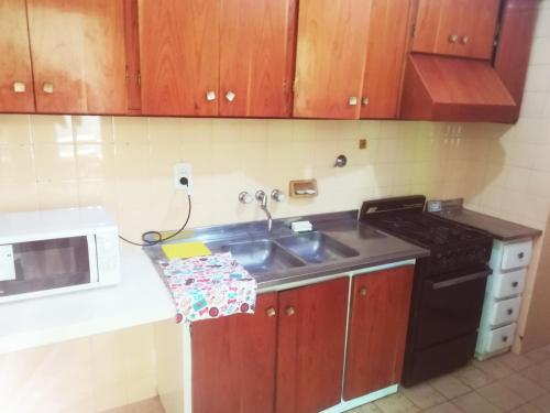 A kitchen or kitchenette at Tu Lugar Mendoza