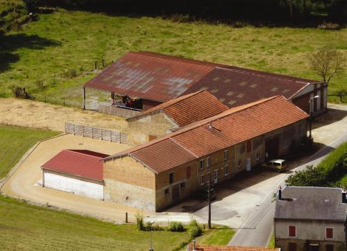 Vue panoramique sur l'établissement La Héronnière - 3 étoiles avec Spa