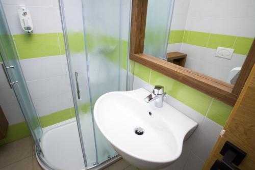 A bathroom at Aparthotel Kazina