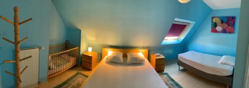 Un ou plusieurs lits dans un hébergement de l'établissement Villa D'este
