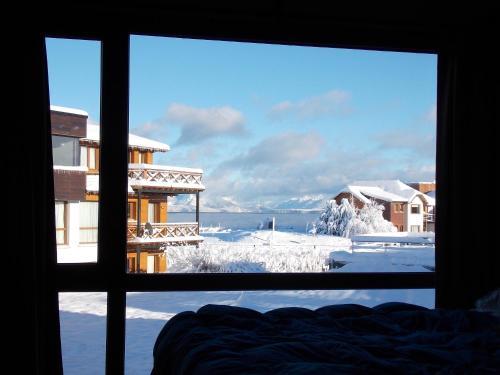 Loft 201 Los Notros during the winter