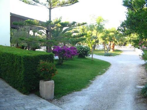 Zahrada ubytování Antica Corte Appartament