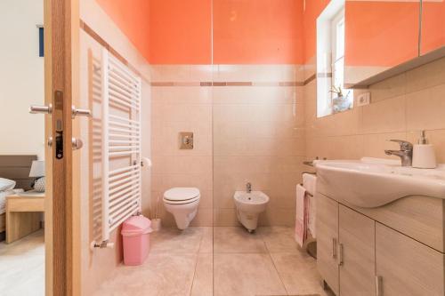 A bathroom at Villa May