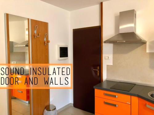 Kuhinja oz. manjša kuhinja v nastanitvi Apartments Kobal