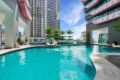 The swimming pool at or close to Arte Plus @ Jalan Ampang by Plush