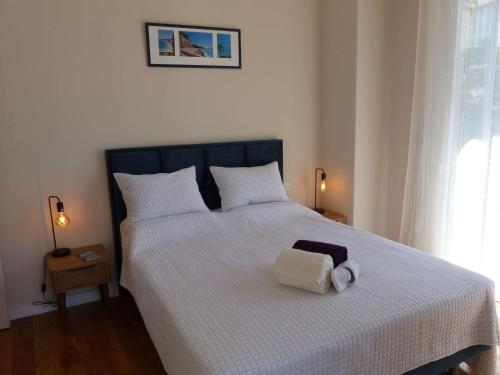 Letto o letti in una camera di Coquet appartement centre-ville - Carré d'or