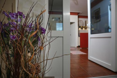 The lobby or reception area at Apartments Bartol