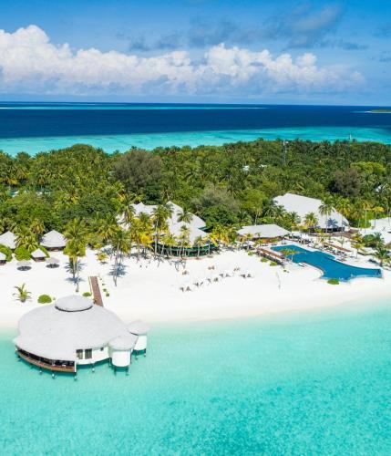 A bird's-eye view of Kihaa Maldives Resort & Spa