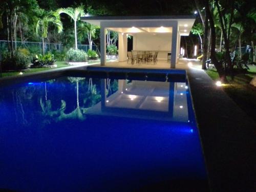 The swimming pool at or near Casa Caribe