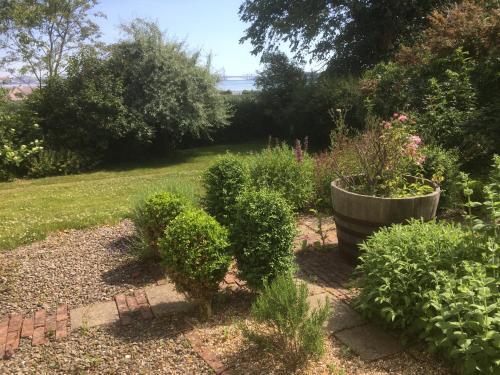 A garden outside Hope Park