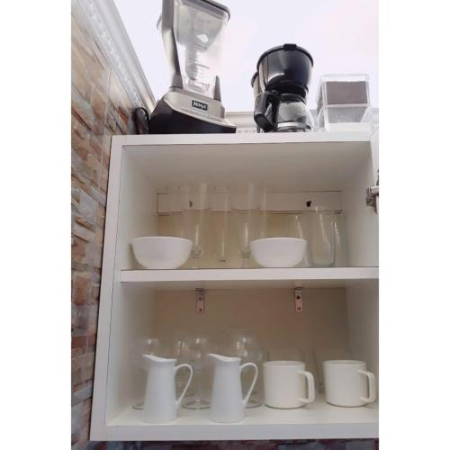 Coffee and tea-making facilities at Sabanilla Hills