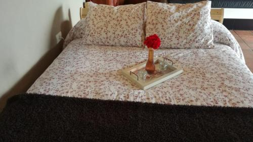 A bed or beds in a room at Casa Garcia-Mar