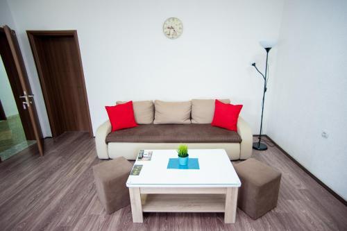 Prostor za sedenje u objektu Vila Magdalena