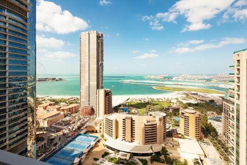 Barceló Residences Dubai Marina з висоти пташиного польоту
