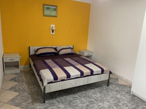 Krevet ili kreveti u jedinici u objektu Apartments Sunpoint