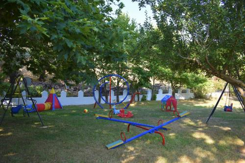 Ο χώρος παιχνιδιού για παιδιά στο Ξενοδοχείο Ζάχος