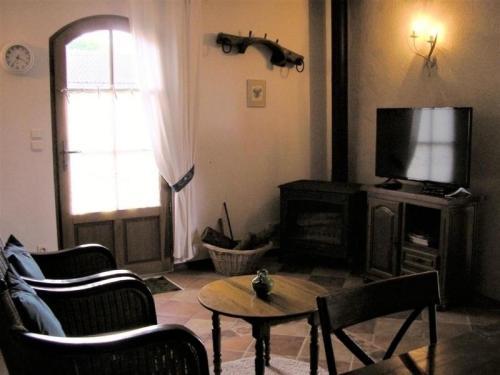 Część wypoczynkowa w obiekcie House La bergerie 1