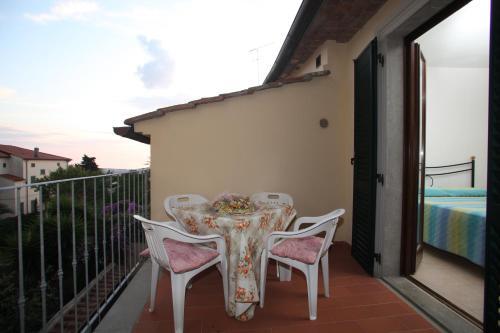 A balcony or terrace at Nonno Alberice