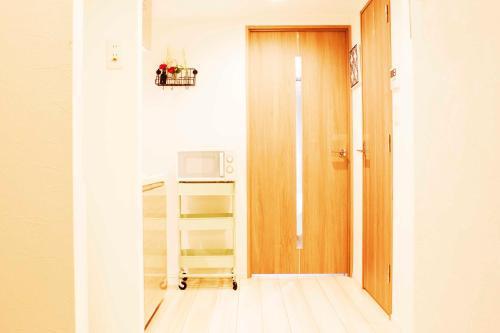 A bathroom at 秀 · 新宿御苑酒店