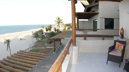 A balcony or terrace at Mirmar Apartments