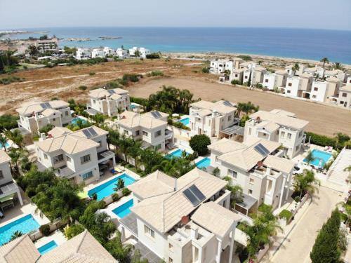 A bird's-eye view of Anthorina Villa 8