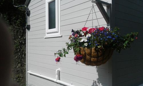 Balkon lub taras w obiekcie The Shepherd's Hut