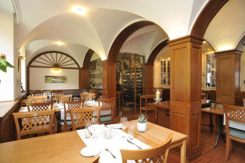 A restaurant or other place to eat at Restaurant Attisholz
