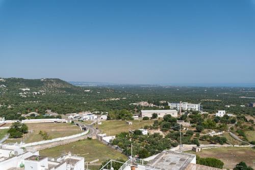 Een luchtfoto van Casa La Calce