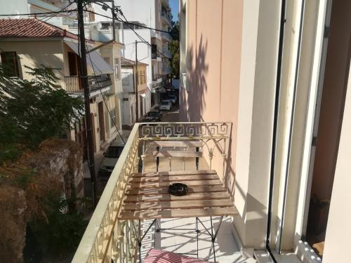 A balcony or terrace at Homeric Poems
