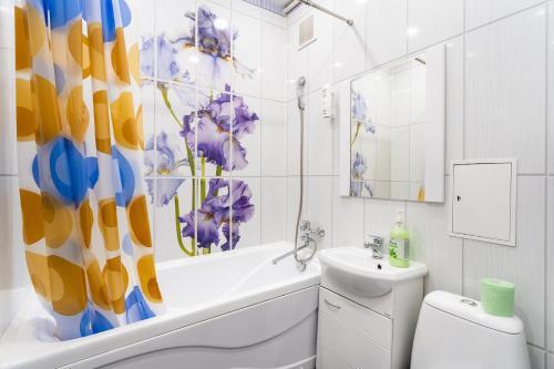Ванная комната в На-Сутки на б-ре Мира 22