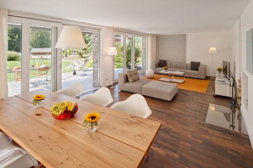 A seating area at Chalet Altesse - Premium Apartments